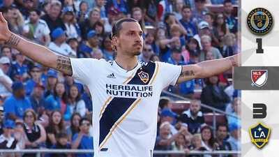 LA Galaxy derrota al Philadelphia Union con el talento de Zlatan Ibrahimovic