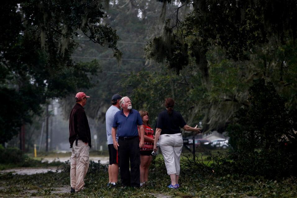Increíblemente en pie: así encontramos las calles por donde entró Irma a...