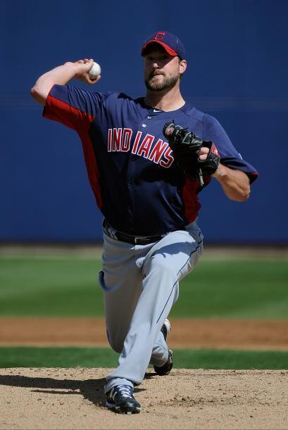 """Indians de Cleveland """" Fueron contendientes en la primera parte de la te..."""