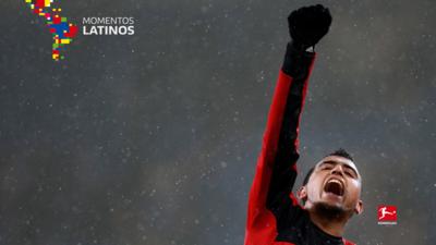 El primer gol del chileno Arturo Vidal en Europa