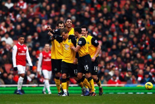 Blackburn intentó reaccionar y alcanzó el empate.