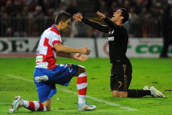 Cristiano Ronaldo se hizo presente en el marcador con el tanto del empate.
