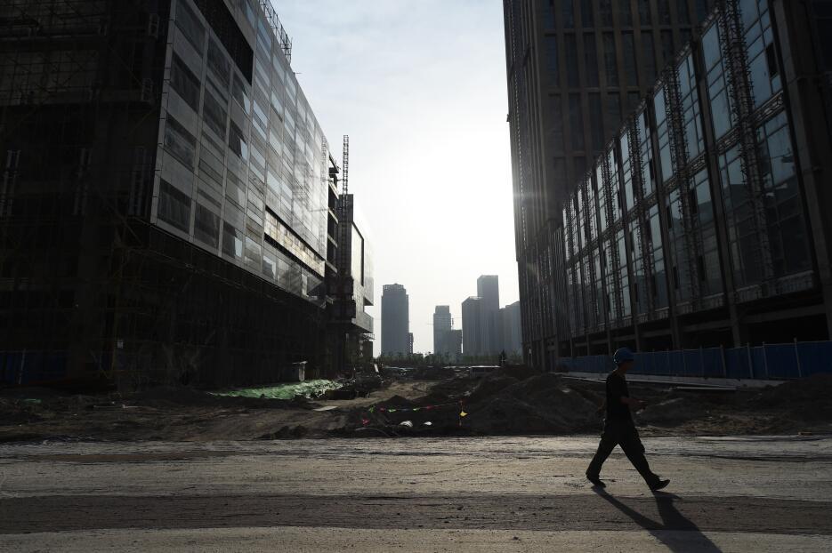La falta de inversionistas dejó las torres de Yujiapu a medio construir.