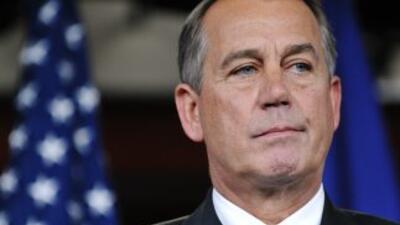 Boehner dijo estar frustrado de que los seis demócratas en el supercomit...