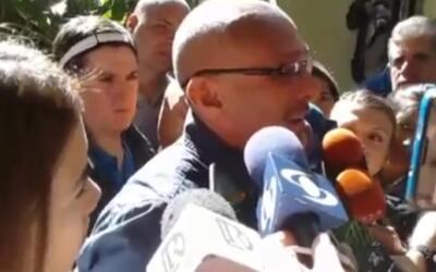Video: Padre del joven muerto en una protesta en Venezuela manda un mens...