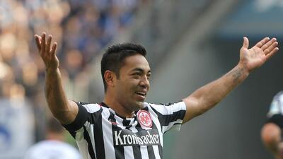 Marco Fabián deberá buscar equipo; Eintracht no cuenta con él