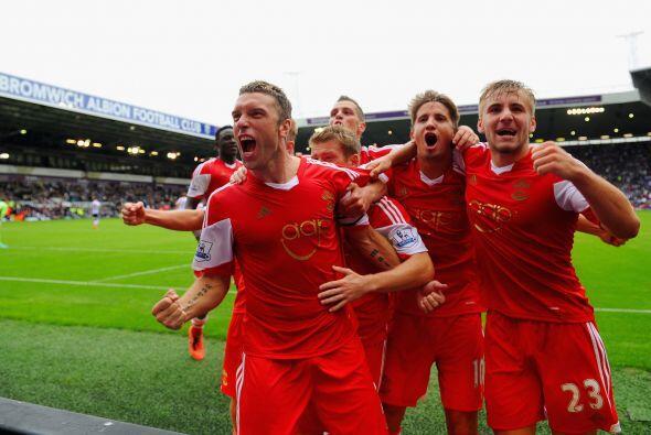 Southampton le sacó una importante victoria al West Bromwich a domicilio...