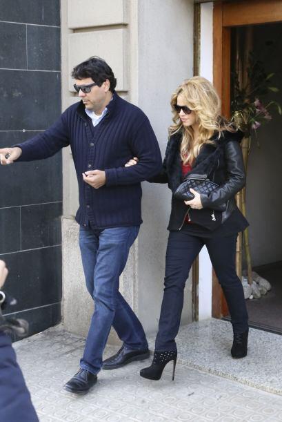 """Y se dio el lujo de ponerse unos """"skinny jeans""""."""