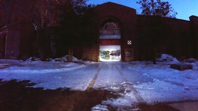 Hospital psiquiátrico abandonado en Brentwood, Long Island, donde se enc...