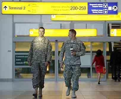 El regreso de tropas de IrakTal como lo prometió en su campa&ntil...