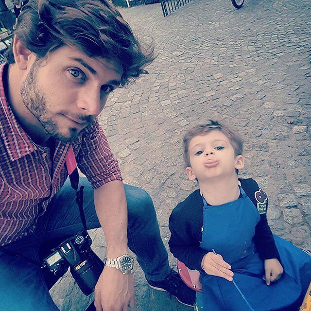 Benicio Pancheri es el bebé que trae de cabeza al actor Horacio Pancheri...