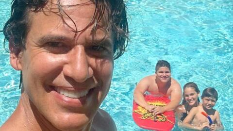 Las vacaciones familiares de Jorge Aravena