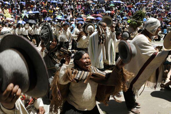 La festividad de Oruro en un desfile folclórico declarado patrimonio cul...