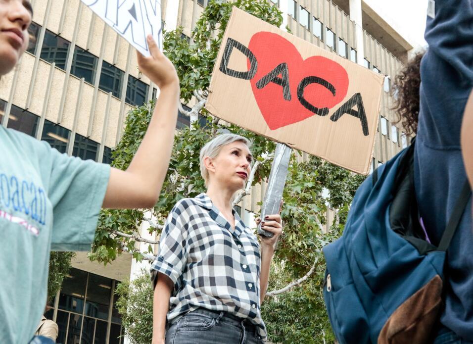 Marchas en Los Ángeles tras el fin de DACA