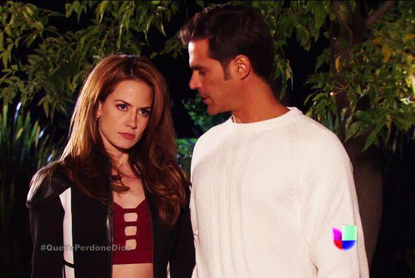 ¡Uyyy Diana! Te lo advertimos, Fausto ya te atrapó en los brazos de Mateo.
