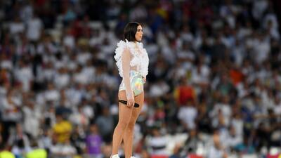 Dua Lipa puso la música y la belleza en el show de la final de Champions League