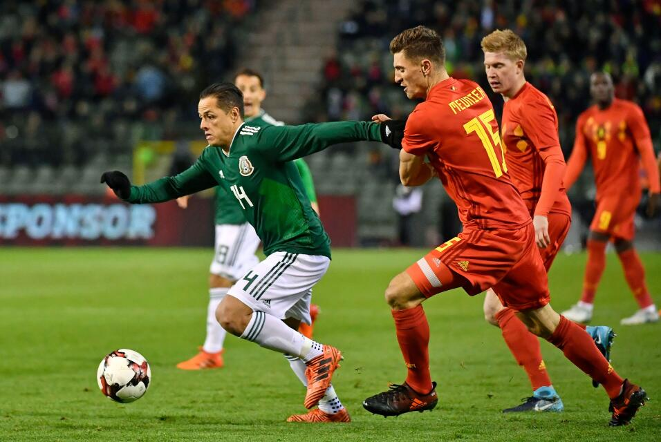 Grupo F. Javier Hernández (México) - aunque tuvo un momento difícil en e...