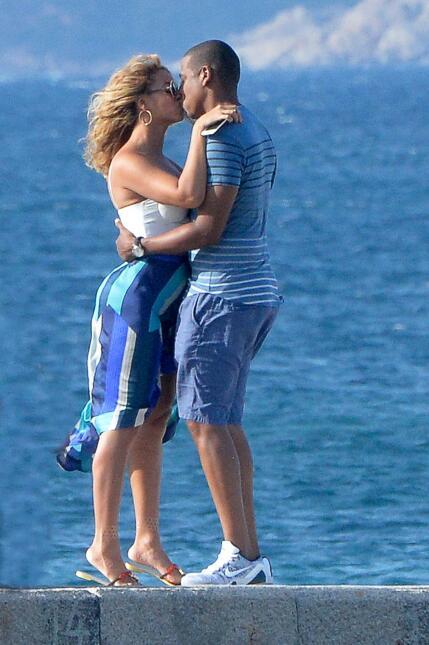 ¡Beyoncé y Jay Z están beso y beso! SALF_BYZCIL150916_01.JPG