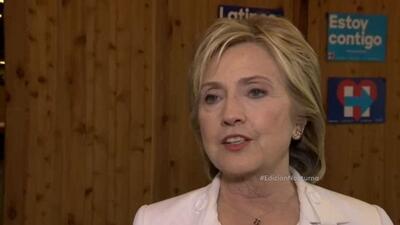 Hillary Clinton explicó cuáles son los temas que la acercan con los hisp...