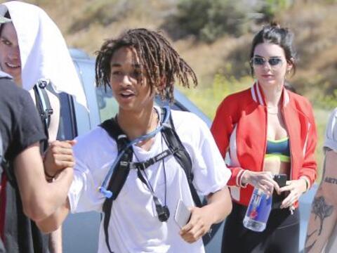 Y luego dicen que no... Jaden Smith y Kendall Jenner se fueron a sudar l...