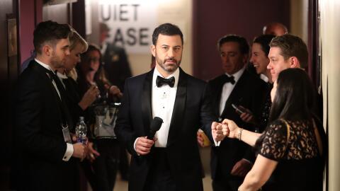 Al conductor Jimmy Kimmel no parecían quedarle deseos de animar n...