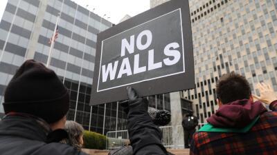 Activistas se manifiestan el pasado mes de enero en Nueva York contra la...