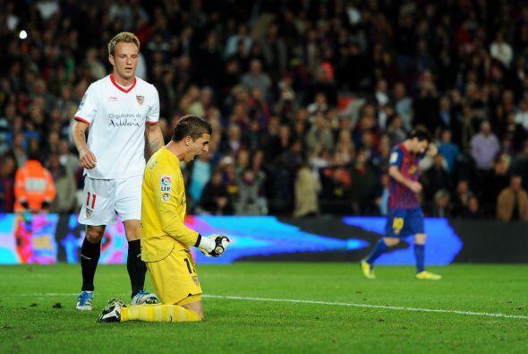 Sin duda tuvo el mejor partido de su carrera y dejó al Barcelona sin pod...