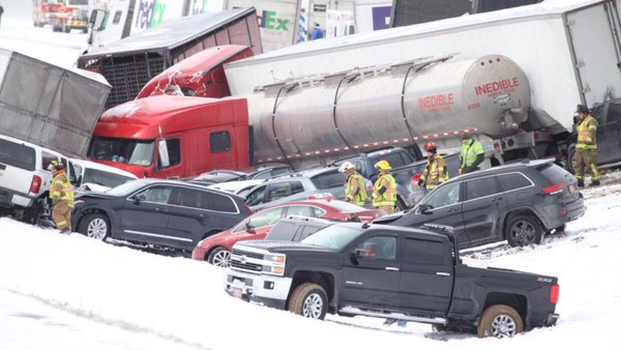 Escena del accidente