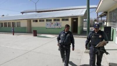 Al lugar llegaron efectivos de la Policía Federal, el Ejército, Procurad...