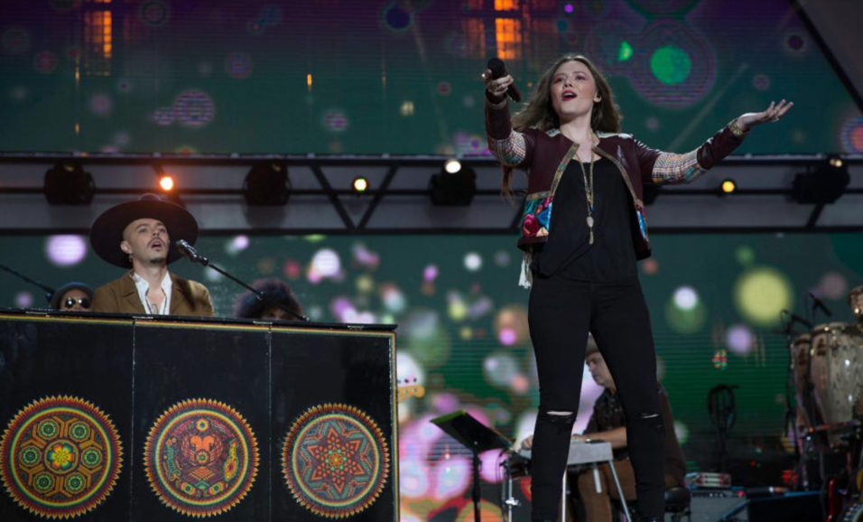 Los hermanos Jesse & Joy.
