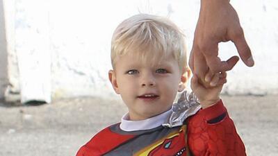 El nene de Fergie y Josh Duhamel es un lindo superhéroe
