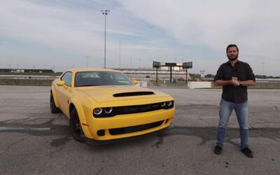 Dodge Challenger SRT Demon 2018 - Prueba A Bordo Completa