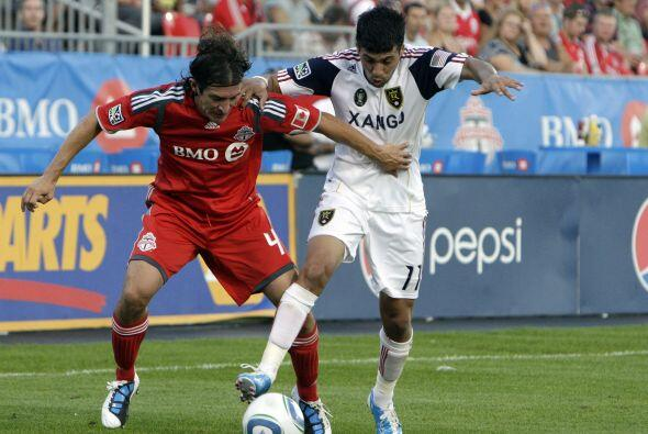 Toronto no pudo vencer en su casa al Real Salt Lake.