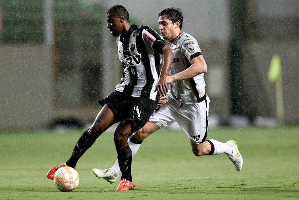 Tras los primeros diez minutos, Atlético Mineiro se convirtioo en domina...