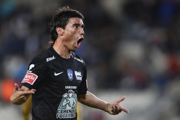 Matías Alustiza espera brillar en la delantera de Pachuca, en el pasado...