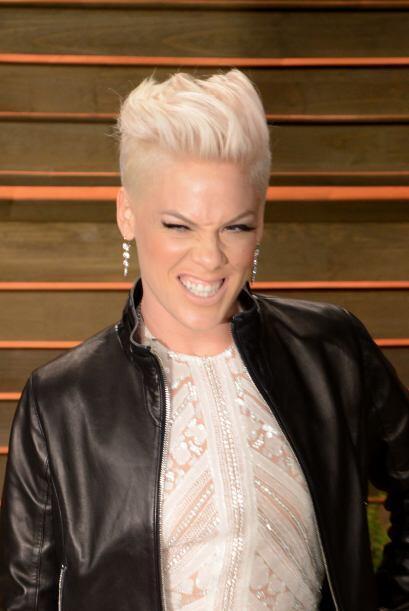 La cantante Pink logró entrar al top ten de Billboard con una ganancia d...