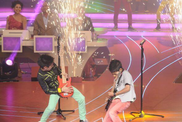 Demostraron que son grandes guitarristas.