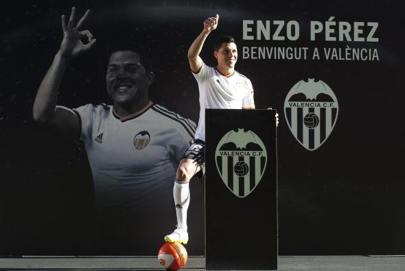Enzo Pérez: El volante internacional de Argentina, dejó al Benfica para...
