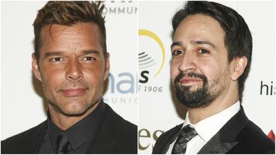 Ricky Martin y Lin Manuel Miranda no olvidan la complicada situación que atraviesa Puerto Rico