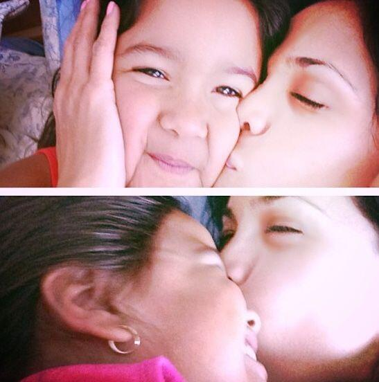 """""""No olvides decir te amo! Buenas noches... #misamores #Antonella #M..."""
