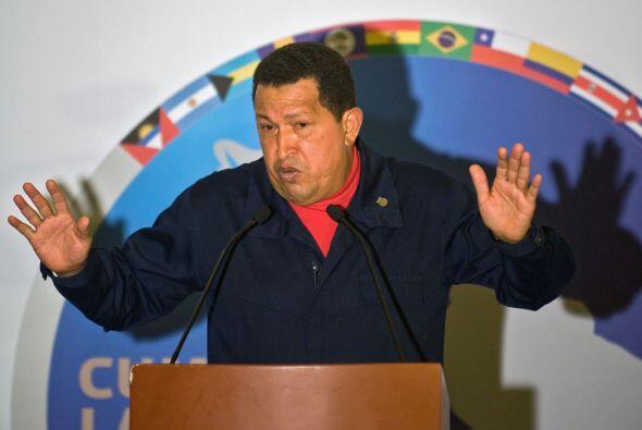 Chávez dijo el sábado que por fin entregó Uribe el gobierno y lo acusó d...