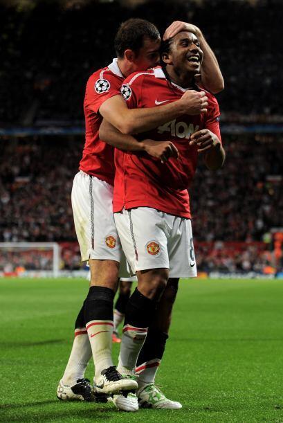 Y lo aprovechó, más cuando marcó el gol con el que el 'Man-U' empataba t...