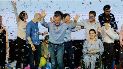 La coalición de centro derecha que lidera Macri logró una...