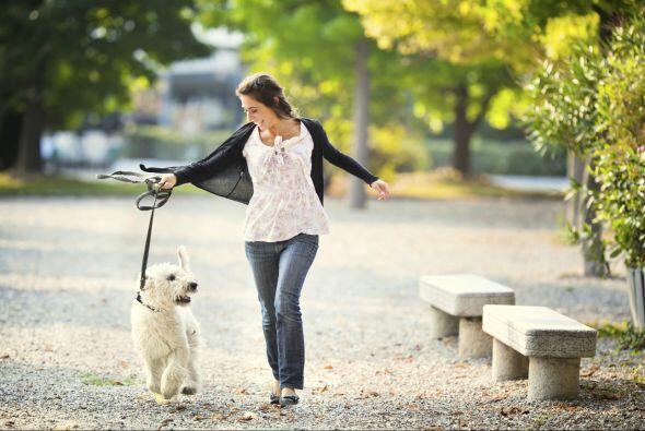 Caminar a ritmo tranquilo. Un cambio que no es difícil incorporar.