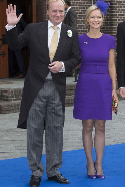 La princesa Carolina de Bourbon de Parme dio un toque de frescura y roma...