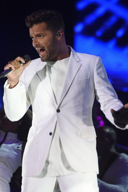 Ricky Martin recibió el Premio a la Excelencia en 2004, en uno de los me...