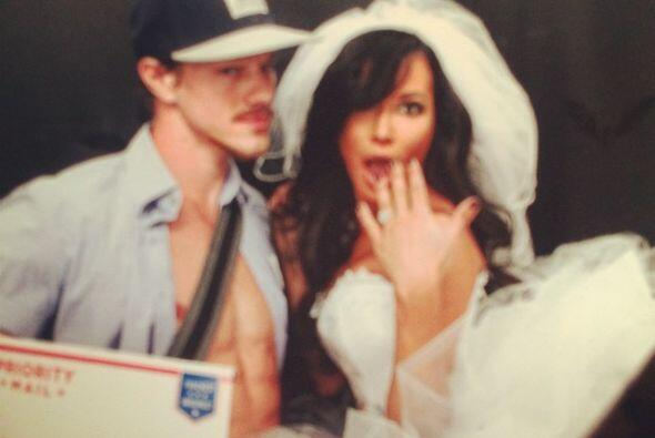 """La actriz de """"Glee"""" dio el sí el 19 de julio de este año."""