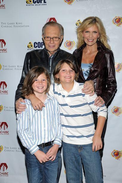 King está casado con Shawn King y ambos tienen dos hijos, Cannon y Chase.