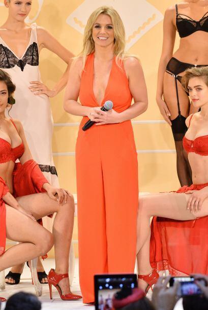 Britney está muy orgullosa por su incursión en el mundo de la moda.