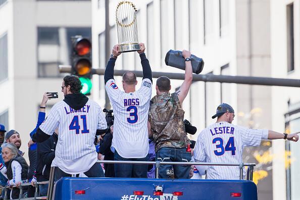 Cubs celebración